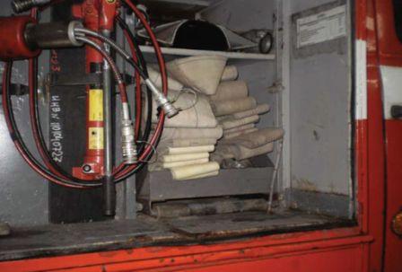 Пенал на пожарном автомобиле АЦ-3,0-40 (43206)