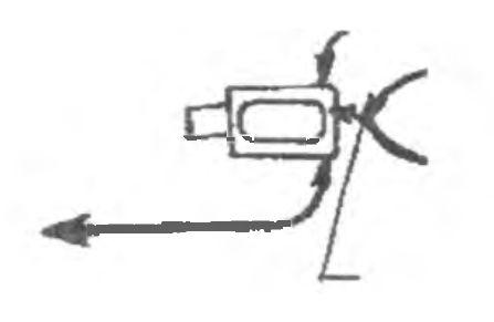 Схема работы с гидроелеватором