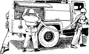 Боевое развертывание пожарных