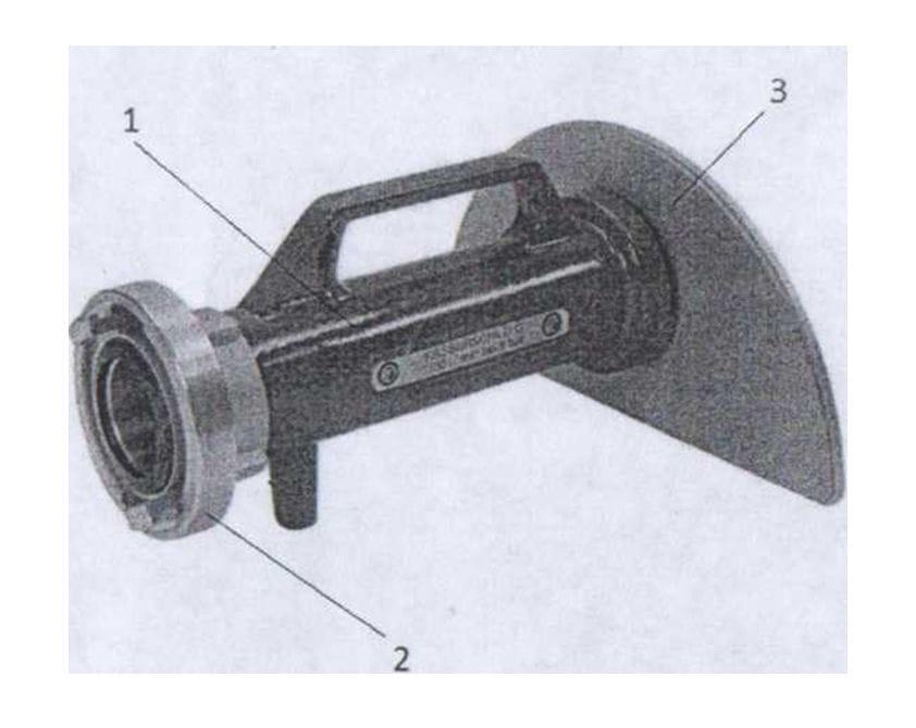 Ствол водяной веерный распылитель модели WASSERSCHILD