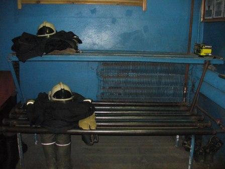 Стеллаж для сушки боевой одежды пожарного