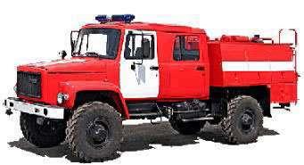 Пожарный автомобиль АЦ-1.0-30 (33081)