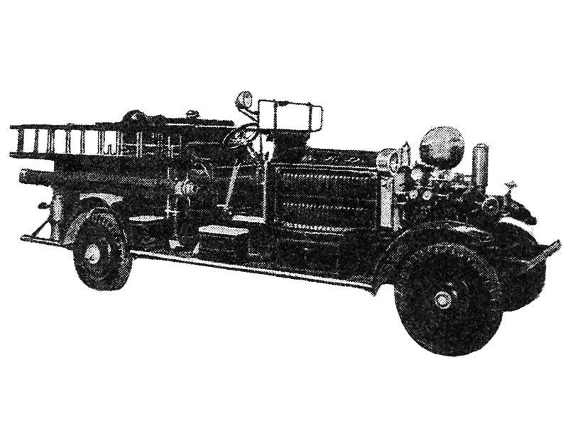 Автомобиль Аренс-Фокс образца 1920-1930-х гг