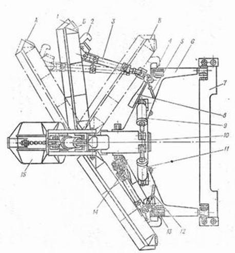 Бульдозерное оборудование БАТ-2