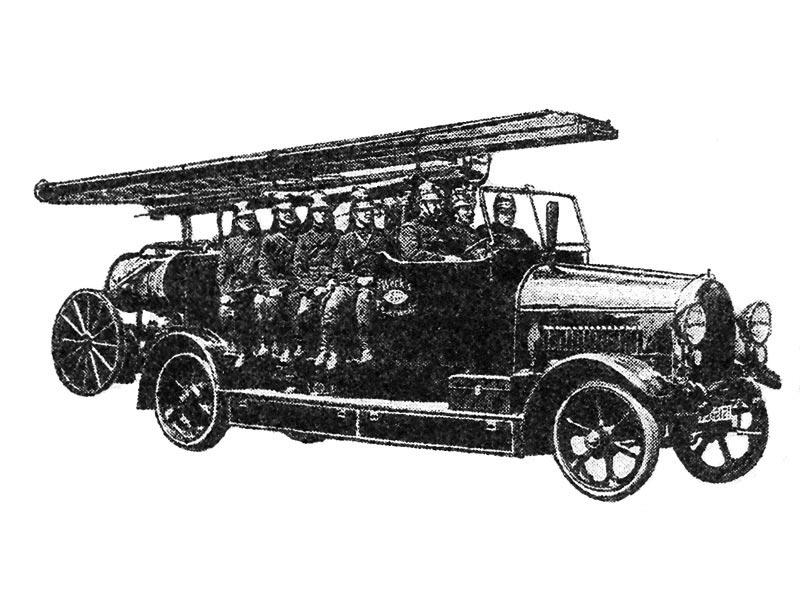 Немецкая линейка Опель образца 1924 года