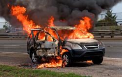 загорание автомобиля