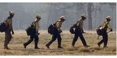 Рюкзак пожарного COAXSHER FS-1 Ranger Wildland Fire Pack для тушения лесных пожаров