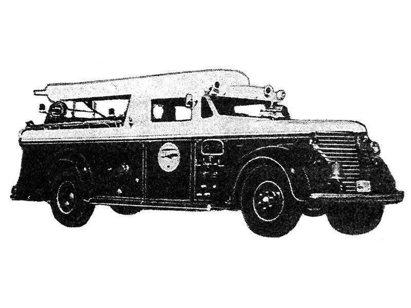 Пожарный автомобиль Америкэн ля-Франс