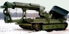 Путепрокладчик БАТ-2: техническая характеристика и описание