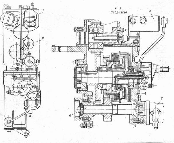 Редуктор гидронасосов БАТ-2
