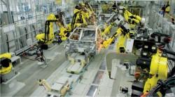 автоматизированная сборка автомобиля