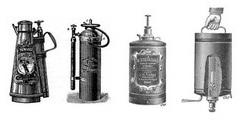 История создания огнетушителей: первые изобретения