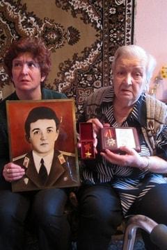 Мать Виктора Кибенка