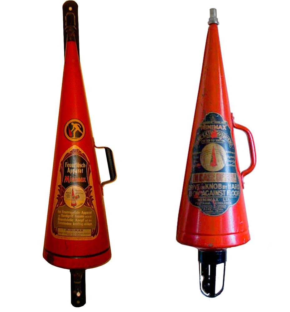 Кислотные огнетушители Minimax Spitz (модели 1902 года)