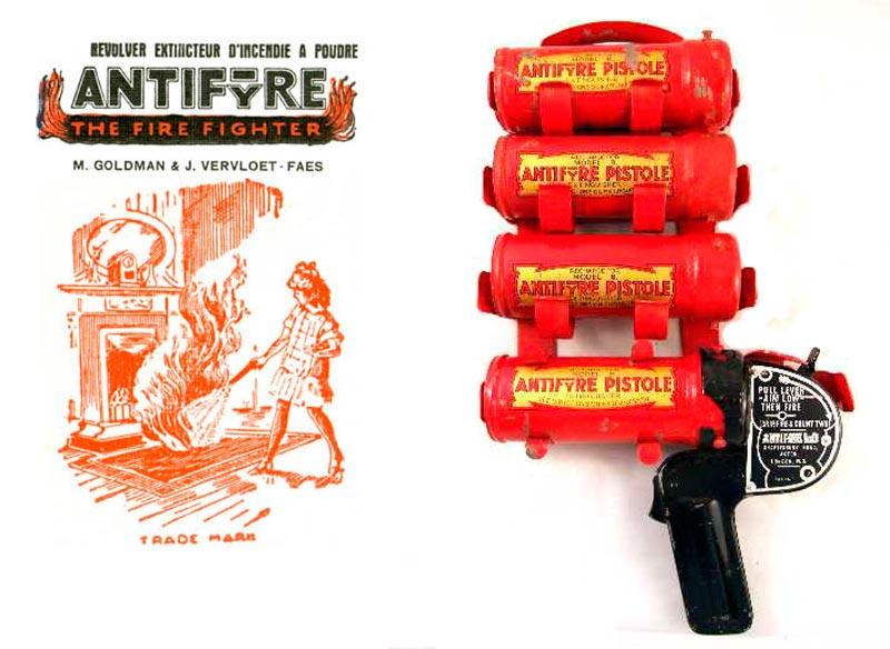 Пистолет-онетушитель Antifyre Pistole