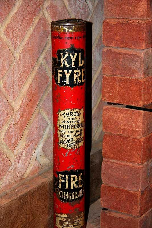 Ручной порошковый огнетушитель «KylFire» (Англия)