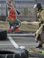 соревнование пожарных братск