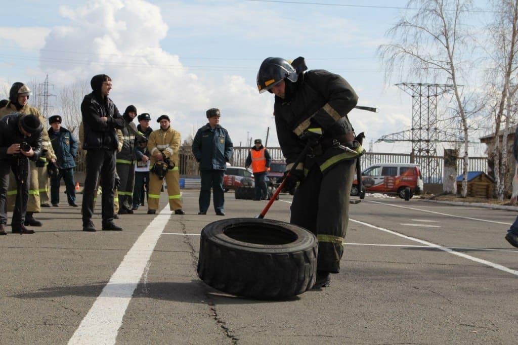 соревнование пожарных этап 2