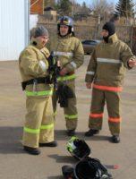 соревнование пожарных в городе Братске