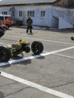 соревнование пожарных выполнение упражнения