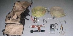 Сумка для пожарных: переноска ПТВ и рукавов