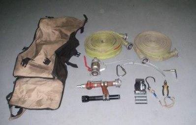 Состав сумки пожарного