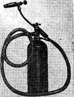 Отогревательный прибор работающий на природном газе