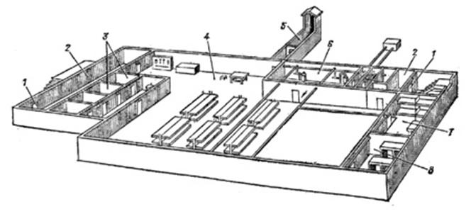 План-схема убежища