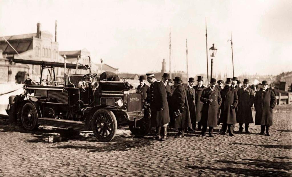 Пожарный автомобиль системы Коммер-Кар