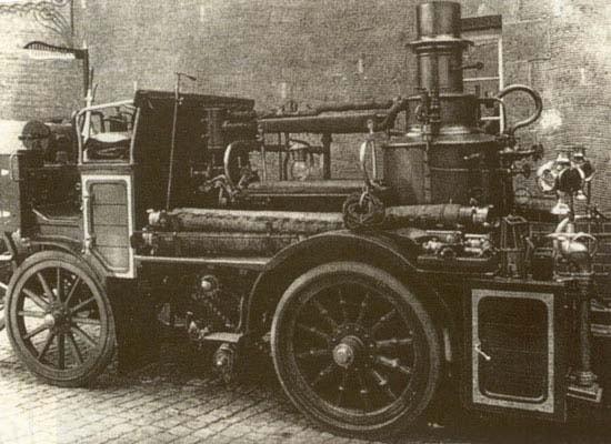 Самоходный пожарный насос «Магирус» Германия 1904 г