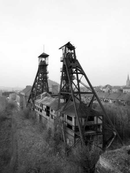Угольная шахта Бюа-де-Кайзер (фото: 14 ноября 2011 года)