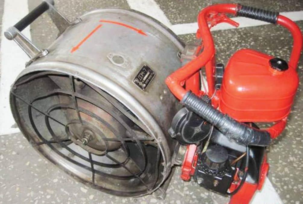 Пожарный дымосос ДП-7