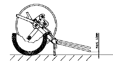 Катушка проверка рукоятка (рычаг) тяги