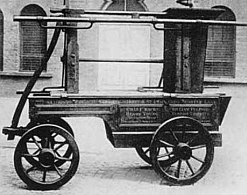 Машина Meryweather (XVIII - ранний XIX век)