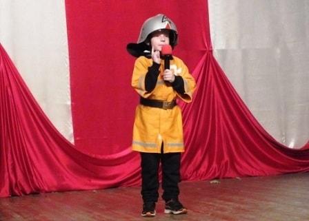 Пожарная безопасность в школе (сценка)