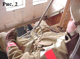 Эвакуация пожарных с этажей