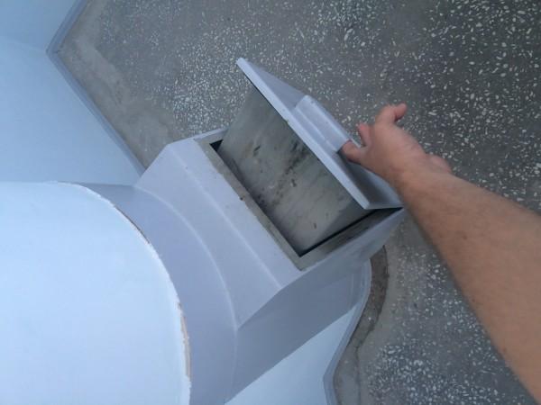 Проверка мусоропровода