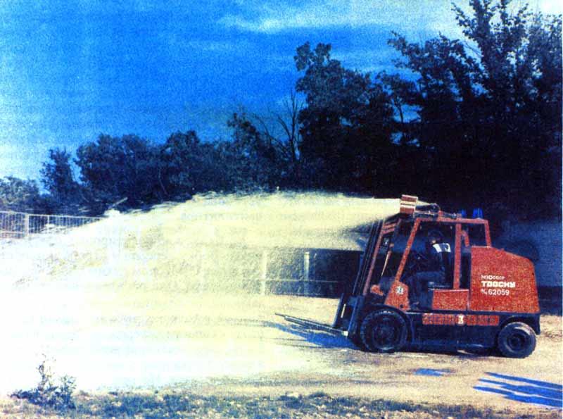 Пожарный автопогрузчик