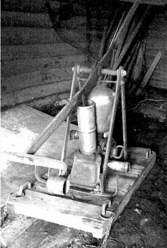Ручная труба без короба фабрики Густава Листа