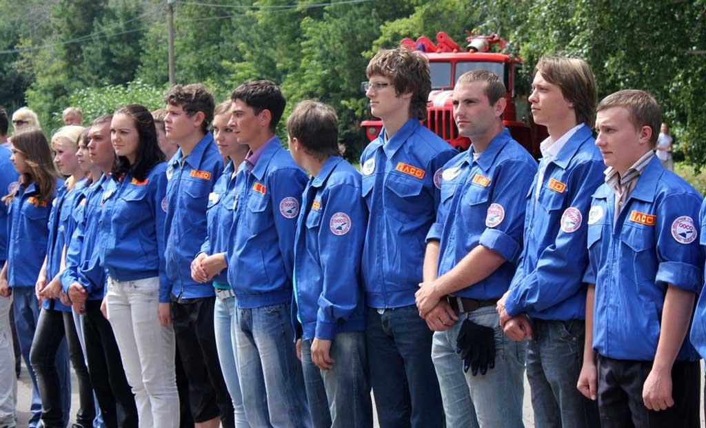 Студенческий отряд пожарных-спасателей