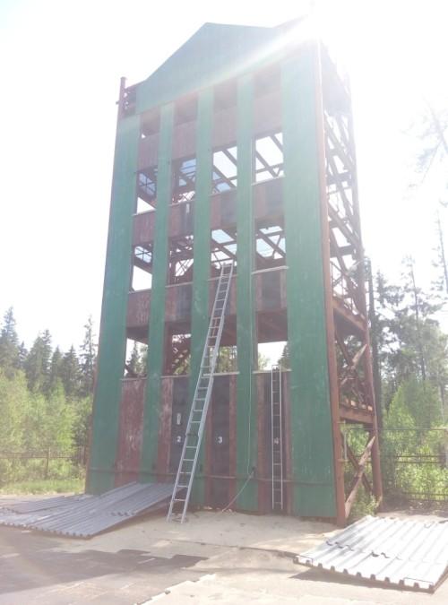 Учебная башня пожарных