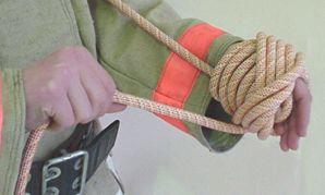 как смотать клубок веревка