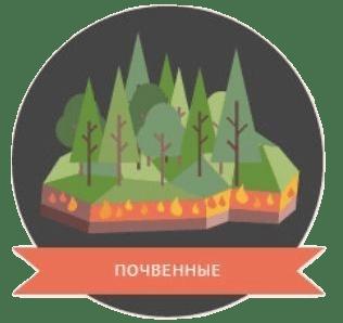 Почвенный (торфяной) пожар