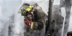 Проведение разведки пожара