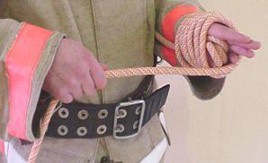 Сматывание веревки в клубок