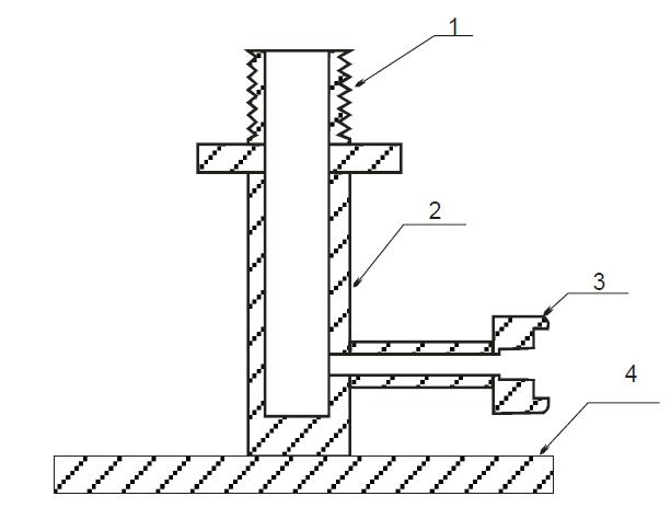 Схема стенда испытания ПТВ и пожарной колонки