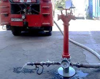 Стенд испытания пожарной колонки и ПТВ