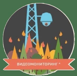 Видеомониторинг за природными пожарами