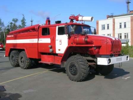 Пожарный автомобиль АЦ-7,5-40(4320)006МИ