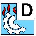 Класс пожара пиктограмма D